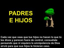 Padres e hijos - Presentaciones.org