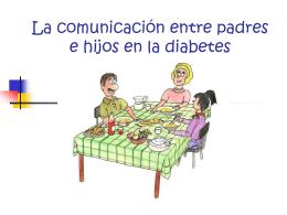 La comunicación entre padres e hijos en la diabetes