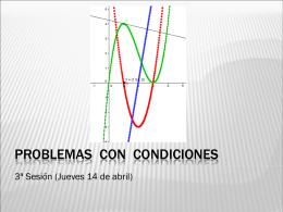 PROBLEMAS CON CONDICIONES