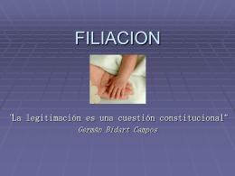 legitimación del padre biologico para impugnar la paternidad del
