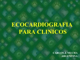 ASPECTOS ECOCARDIOGRAFICOS DE IMPORTANCIA CLINICA