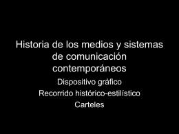 Historia del cartel - Facultad de Bellas Artes