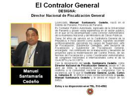 dirección de - Contraloría General de la República