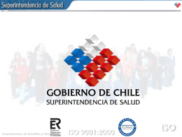 Adulto Mayor Chile - Superintendencia de Salud