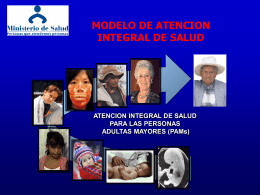 MAIS Adulto Mayor - Ministerio de Salud