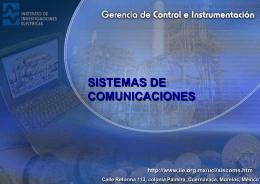 Presentacion Comunicaciones
