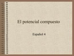El potencial compuesto