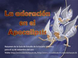Lección 13: La adoración en el Apocalipsis