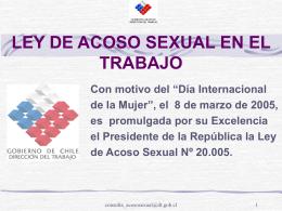 Presentación Educativa sobre Acoso Sexual