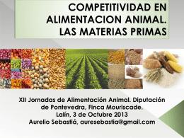 competitividad en alimentación animal.