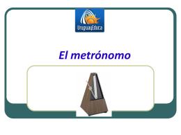 El metrónomo - Uruguay Educa