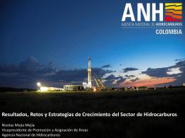 Presentación - Agencia Nacional de Hidrocarburos