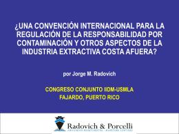 ¿una convención internacional para la regulación