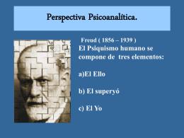 PPT 6: Psicoanalisis