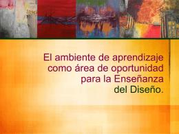 El ambiente de aprendizaje como área de oportunidad para la