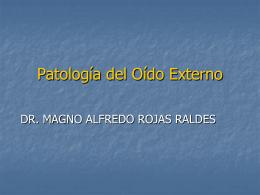 Patología oido externo