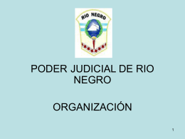 Módulo 5 - del Poder Judicial de Rio Negro