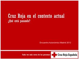 Qué está pasando? - Cruz Roja Española