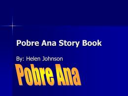 Pobre Ana Story Book