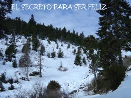 El secreto para ser feliz - Centro Indalo Loyola