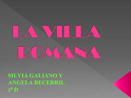 LA VILLA ROMANA - Una de romanos