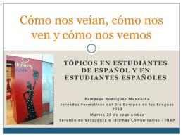 tópicos en estudiantes de - Vascuence e Idiomas Comunitarios