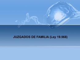 JUZGADOS DE FAMILIA - Trabajo Social UDLA