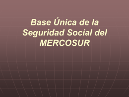 Base Única de la Seguridad Social