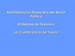 2 - SISTEMA DE TESORERIA - CUT 1 (Jorn. TGP-APOC)