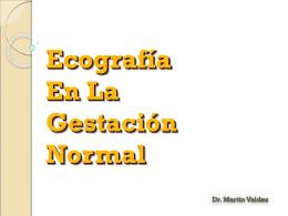 2. Ecografía En La Gestación Normal