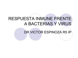 respuesta inmune frente a virus y bacterias