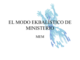 Encuentros de Poder II - W. Madera