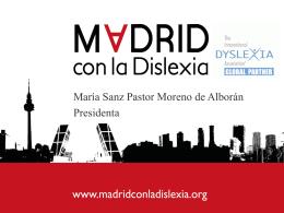 Presentacion Asamblea 1 - Madrid con la Dislexia