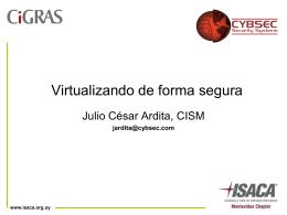 Virtualizando en forma segura