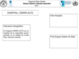 Formato de presentación Cirugía Segura