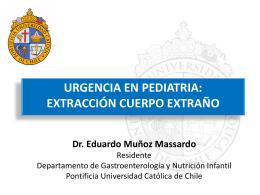 Urgencia en Pediatría: Extracción cuerpo extraño