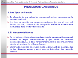 Problemas Cambiarios - iies