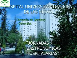 Jornadas Gastronómicas Hospitalarias