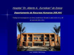 isalud - Hospital Ezeiza
