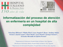 Claves para implentar un HIS en un hospital de alta