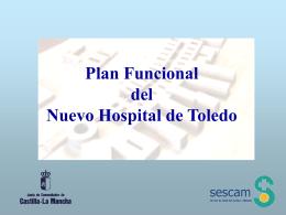Planificación Funcional Nuevo Hospital de Toledo
