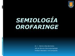 Semiología Boca y Faringe