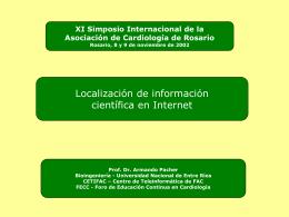 Búsqueda de información científica en Internet:  4.3MB