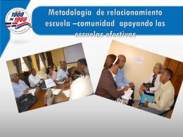 Presentación Metodológica REC y Fortalecimiento de