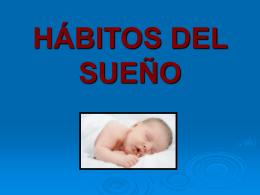 HÁBITOS DEL SUEÑO