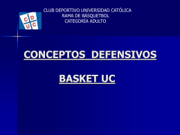 Conceptos Defensivos - Club del Entrenador