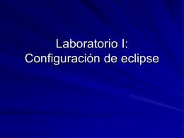 instrucciones de uso de Eclipse