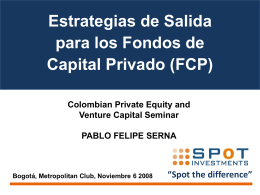 Pablo Felipe Serna - Latin American Private Equity and Venture