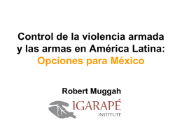 México - Global Commission on Drug Policy
