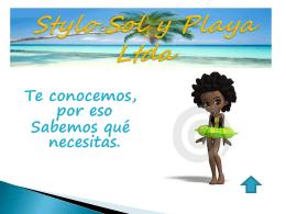 Stylo Sol y Playa Ltda